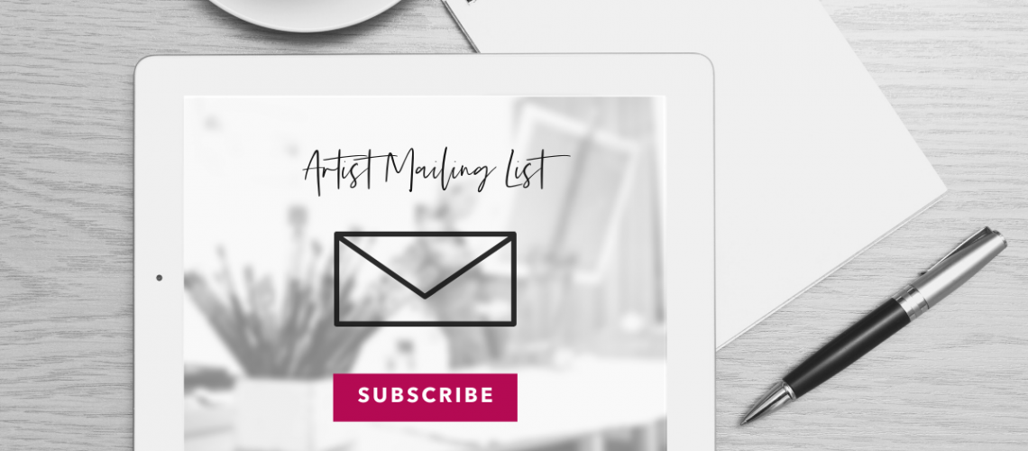 List Building for Artists